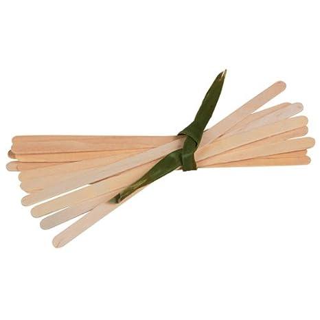 Case of 1000 PacknWood Biodegradable Wood Beverage and Drink Stir Sticks 7.1 PK210SPATB18 Wooden Coffee Stirrers