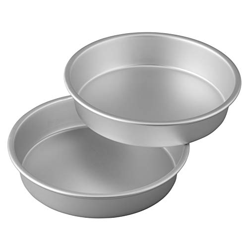Wilton Aluminum Performance Pans Set of 2 9-Inch Round Cake Set by Wilton (Image #2)