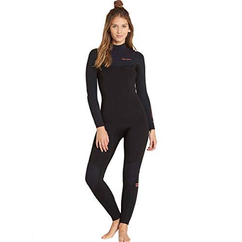 Billabong 3/2 Furnace Carbon Chest Zip Women's Full Wetsuits - Black / 6