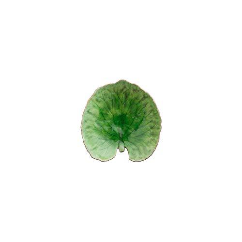 COSTA NOVA Riviera Collection Stoneware Ceramic Alchemille Leaf Plate 7
