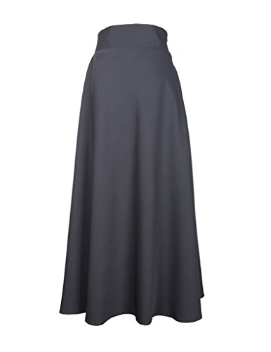 EDZ Women's Nuryn 2.0 Highwaist Office Basic Maxi Skirt Muslim Modest Attire...
