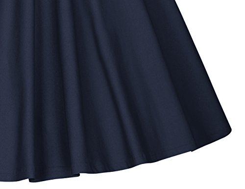 Vestiti da 50 Donna Cocktail Anni Blu Profondo Vestiti Matrimonio MUXXN Abbigliamento Vestiti 0C5Xqx5zw