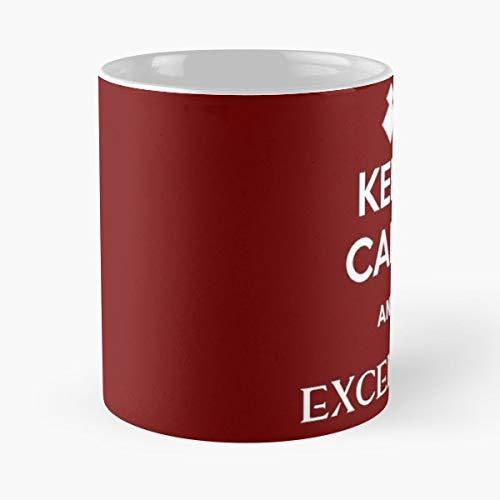 Guild Wars 2 Excelsior Keep Calm - Best 11 oz Coffee Mug Cheap Gift
