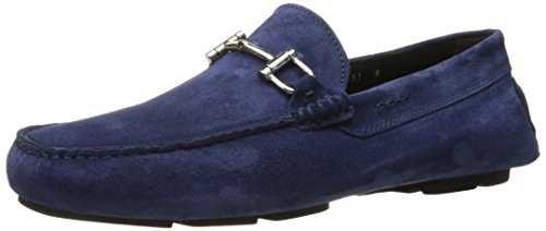 Om New York Heren Hilton Slip-on Loafer Softy Indaco Op Te Starten