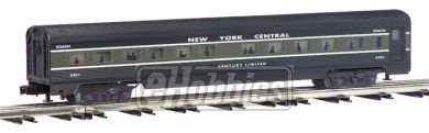 Streamliner 4 Car Set (Williams by Bachmann O Scale 72' Streamliners 4 Car Add-On (Baggage, Two Coaches, and Observation) Passenger Set (New York Central))