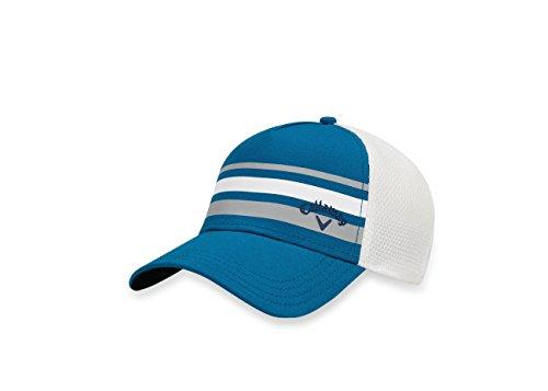 Mesh Stripe Golf (Callaway 2017 Stripe Mesh Hat, Blue/White, Small/Medium)
