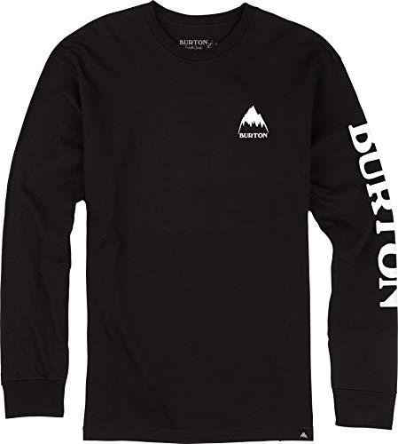 Burton Men's Elite Long Sleeve Tee, True Black, X-Large