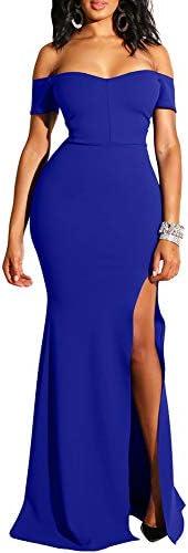 Royal blue wedding dress _image0