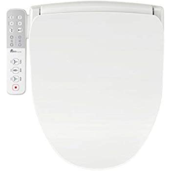 Swell Bio Bidet Slim One Smart Toilet Seat In Round White With Stainless Steel Self Cleaning Nozzle Nightlight Turbo Wash Oscillating And And Fusion Warm Ibusinesslaw Wood Chair Design Ideas Ibusinesslaworg
