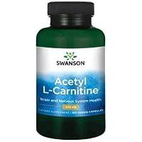 Swanson Premium Acetyl L-Carnitine, 500mg, 100 Vegetarian Capsules
