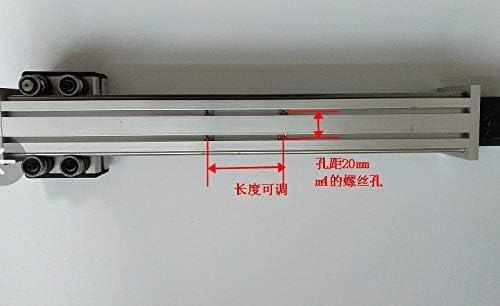 AiCheaX – Kit de rieles de desplazamiento eje Z con motor paso a paso NEMA17 tornillo de control TR8 carrera efectiva 100/200/300 mm para Reprap CNC AiCheaX – (Tamaño: carrera 100 mm):
