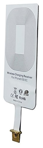 Power to Go QI Receiver for Wireless Charging of iPhone 5 -