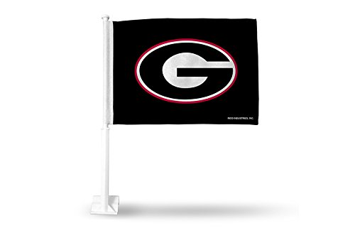 NCAA Georgia Bulldogs Car (Georgia Bulldogs Ncaa Car Flag)