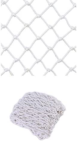 Anti-Fall Net Nylon Net Children Safety Net Protective Net Balcony Suitable for Iron Ladder Stairs Children Indoor Staircase Playground Outdoor,Width 1/4M Length 1M /9M, White, (Size : 45)