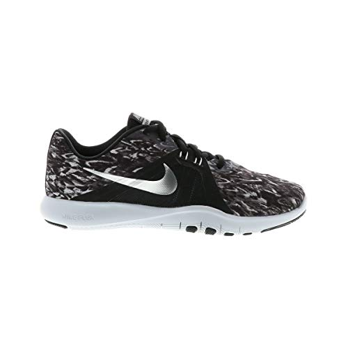 W 001 Print De pure Running Chaussures Silver Femme Trainer Flex Nike metallic Noir Comptition 8 Platinum black RxqUHUn