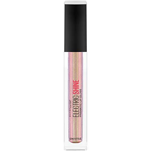 Maybelline New York Lip Studio Electric Shine Prismatic Lip Gloss Makeup, Moonlit Metal, 0.17 fl. oz.
