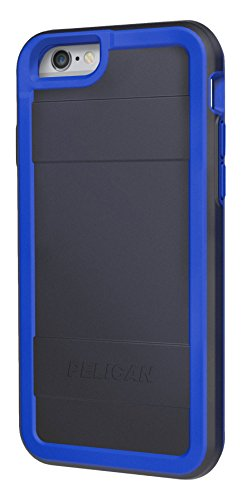 Pelican Cell Phone Case for Apple iPhone 6/6s - Retail Packaging - Black/Blue