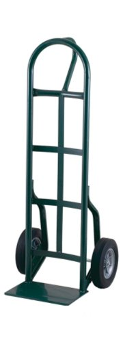 Harper Trucks 56T60 800-Pound Capacity Steel D-Loop Hand Truck with Stair Glides and Solid Rubber Tires