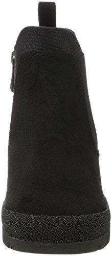 Marco Tozzi Damen 25401 Chelsea Boots Schwarz (pettine Nero)