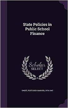 Book State Policies in Public School Finance