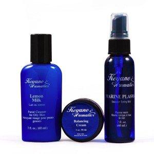 Keyano Aromatics Skin Care Travel Kit (Oily) from Keyano