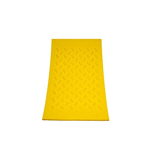 Esco 12592 Safety Yellow Pro Series Wheel Chock, Commercial Trucks and Tractors by Esco (Image #2)