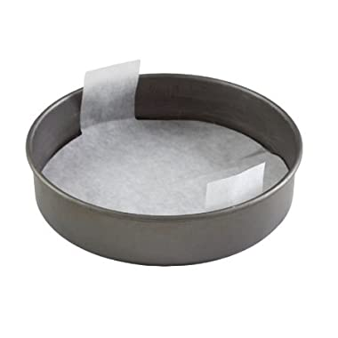 The Smart Baker 9 inch Round Perfect Parchment - 24 Pack Pre-cut Parchment for Cake Pans  As Seen on Shark Tank