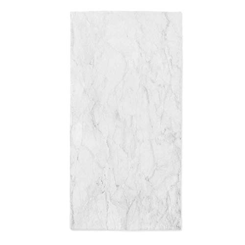 Marble Custom Tablecloth,Abstract Granite Cracks Stone Formation Pattern Mine Veins Ceramic Style Artsy Image for Home & Office & Restaurant Table Tea Table,24''W X 48''L