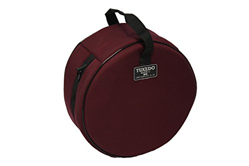 5.5 X 14-Inches Tuxedo Snare Drum Bag COLOR BURGANDY (Tuxedo Drum Cases)