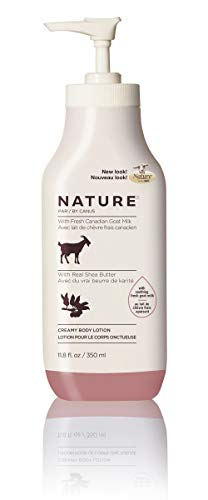 Nature by Canus, Fresh Goat's Milk Moisturizing Lotion, Shea Butter ()