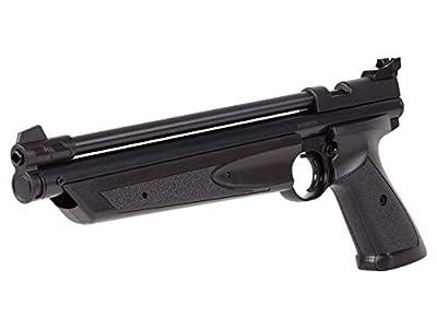Crosman P1322 American Classic Multi Pump Pneumatic .22-Caliber Pellet Air Pistol, Black