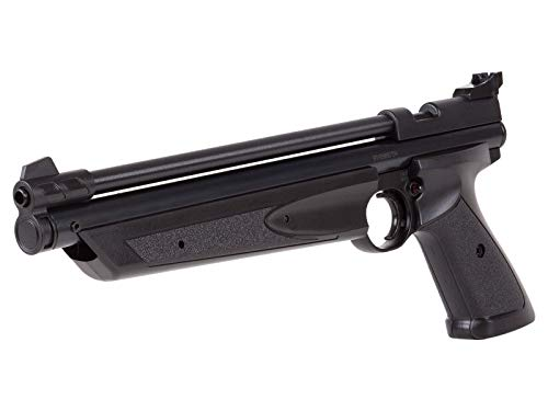 Crosman P1322 American Classic Multi Pump Pneumatic .22-Caliber Pellet Air Pistol, Black from Crosman