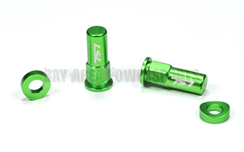 Green Rim Lock Spacer Nut Kit CR YZ KX RM CRF YZF KXF RMZ 80 85 125 250 450