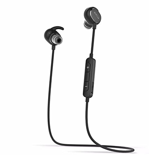 Price comparison product image Wireless Headphone, QCY QY19 Wireless Sport Headset Ultra Lightweight Bluetooth 4.1 CVC 6.0 Noise Cancelling IPX4 Sweatproof