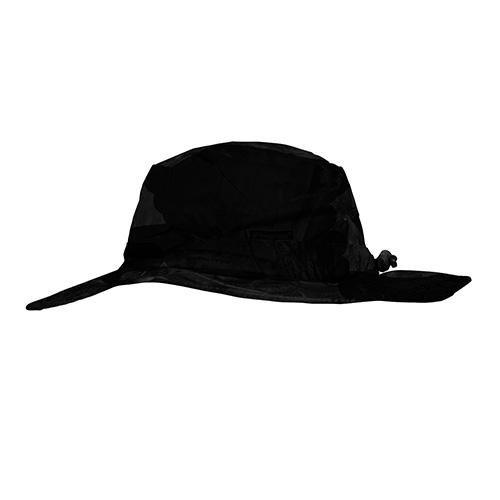 Frogg Toggs Waterproof Boonie Hat, Size 1, Black (Round Golf Hat)