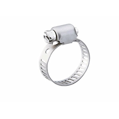 Breeze 3812 Mini-SAE 12 Hose Clamp, Pack of 10 316 Stainless Steel