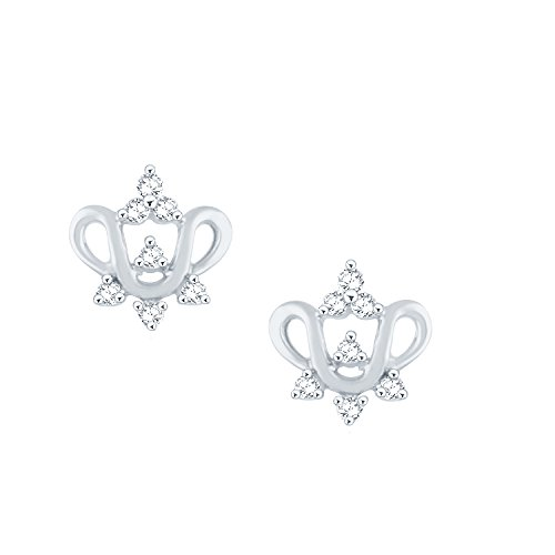 0.167 Ct Diamond Earrings - 6