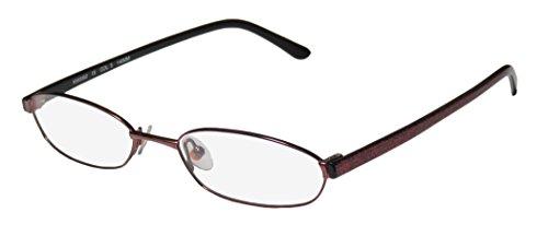 Karen Millen Km0062 Womens/Ladies Designer Full-rim Eyeglasses/Spectacles (52-17-140, Punch / Glitter - Frames Karen Glasses Millen
