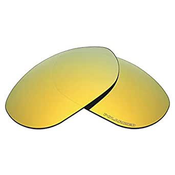 Mryok+ Polarized Replacement Lenses for Oakley Monster Dog - 24K Gold