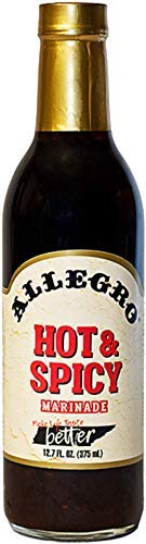 San Francisco Mall Allegro Hot and Excellent Spicy Marinade of 6 Glass 12.7-Ounce Pack