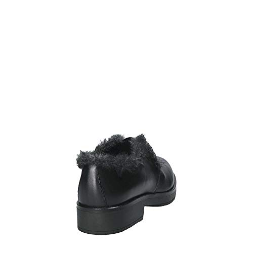 Mocasin 38 Mujeres 5885br Mally Negro 6qwH88g5