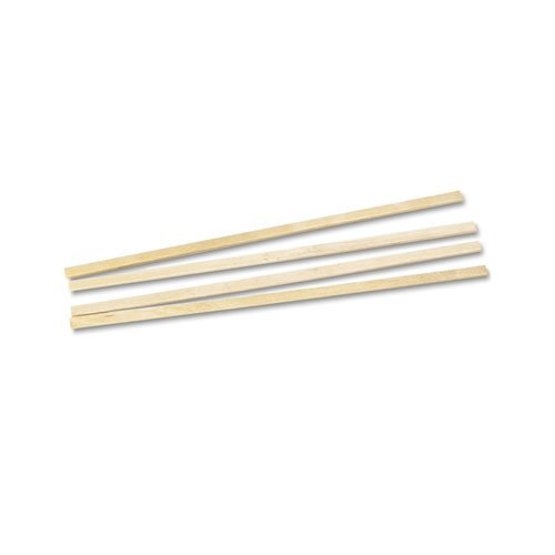 Royal 1000 Count Wood Coffee Beverage Stirrers, 5.5'' by Rqygl (Image #2)