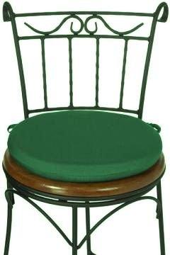 Fine Zippy Waterproof Garden Furniture Cushions Round 15 Green Twin Pack Download Free Architecture Designs Ogrambritishbridgeorg