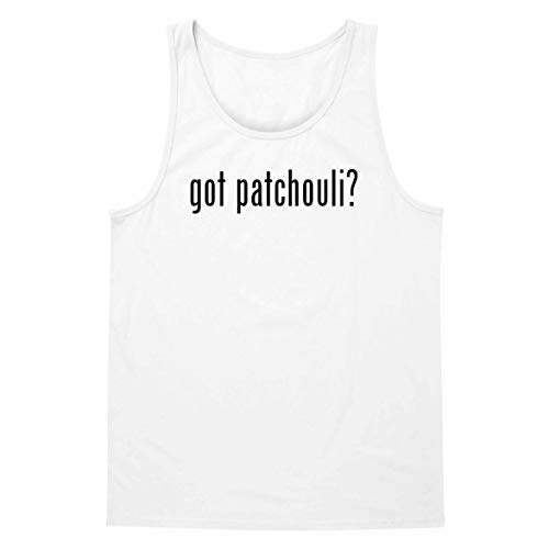 The Town Butler got Patchouli? - A Soft & Comfortable Men's Tank Top, White, Small