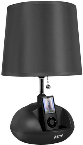 iHome iHL64 Speaker System and Lamp for iPod (Black)