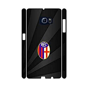 Bolonga FC Logo 3D Samsung Galaxy S6 Funda Case Anti Slip Vintage Pattern Hart Fall