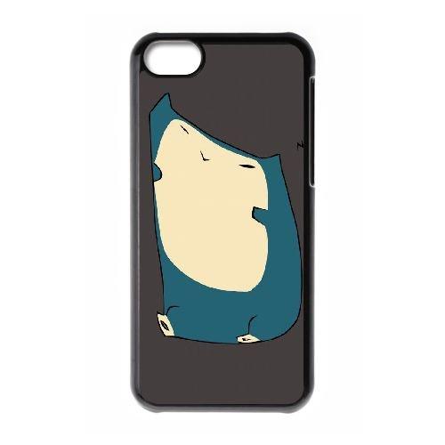 G3V22 pokemon iii E4P1IN cas d'coque iPhone de téléphone cellulaire 5c couvercle coque noire KN5TEQ9MC