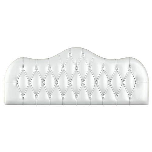 Sleepens - Cabecero CAPITONÉ Forma, para Cama de 135, Blanco - Otras Medidas Disponibles: Amazon.es: Juguetes y juegos