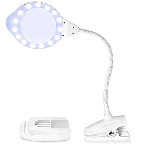 Joypea Magnifying Glass Lamp2X-4X