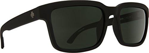 SPY Optic Helm 2 Matte Black - HD Plus Gray Green ()